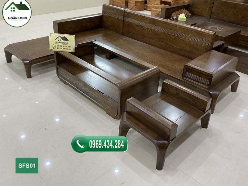 Mua bàn ghế sofa gỗ sồi Nga ở đâu tốt mà rẻ tại Hà Nội?