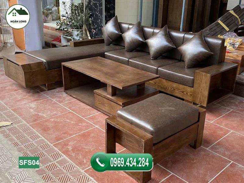 Tuyển tập các mẫu sofa gỗ sồi Nga cho phòng khách mới nhất 2021