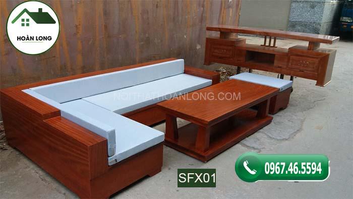 Mê mẩn với 10 mẫu bàn ghế gỗ phòng khách đẹp 2002