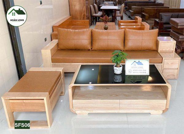 sofa văng 3 ngăn kéo SFS06