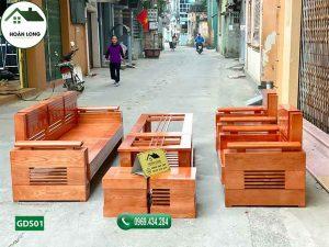 ghế đối tay trứng gỗ sồi GDS01
