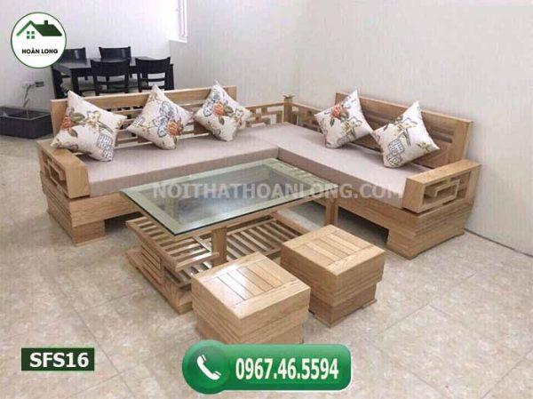 bộ bàn ghế gỗ để uống nước SFS16