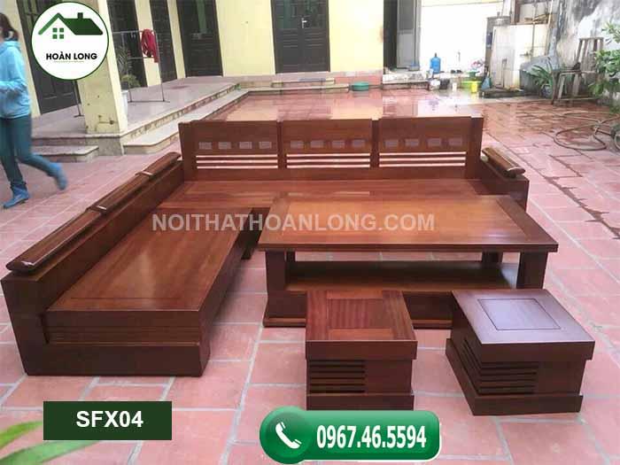 Nội, ngoại thất: Top 5 mẫu ghế sofa gỗ phòng khách đẹp giá rẻ 2002 Sofa-g%C3%B3c-tr%E1%BB%A9ng-SFX04
