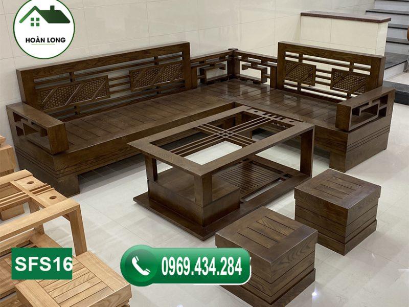 Tiện lợi với 5 mẫu ghế sofa gỗ sồi Nga đơn giản mà đẹp 2021