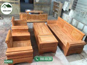 Sản phẩm Bộ ghế đối tay pháo gỗ gõ đỏ GDG03 mang đến cho quý khách không gian trải nghiệm vừa cổ kính vừa hiện đại.
