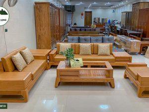 sofa gỗ gõ đỏ SFG10