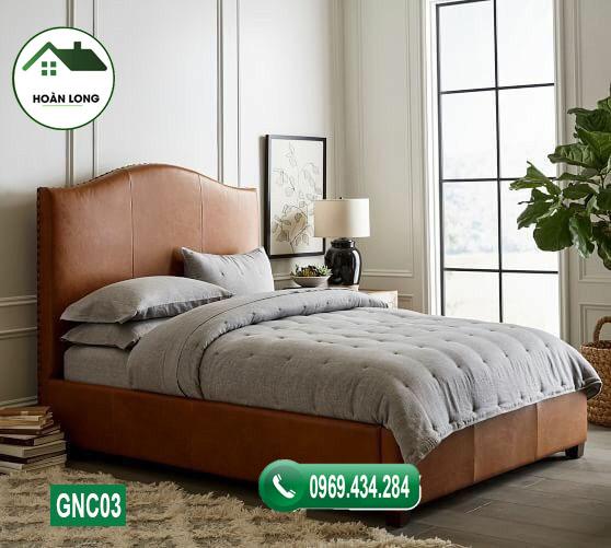 giường ngủ gỗ công nghiệp đẹp GNC03