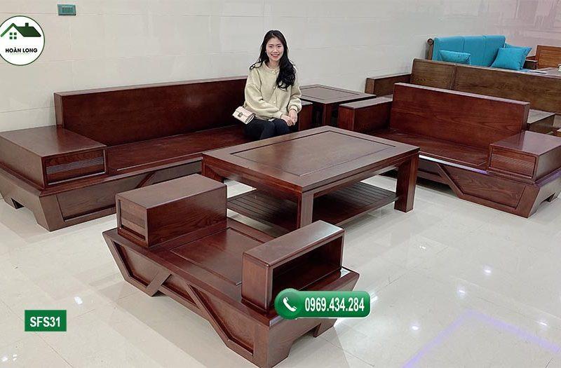 Bảng báo giá bán sofa gỗ sồi Nga cho phòng khách 2021